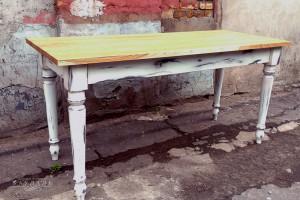 Новый стол из сосны