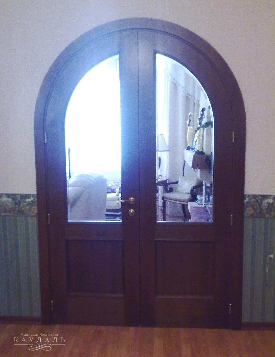 Межкомнатные двери на заказ из МДФ + шпон