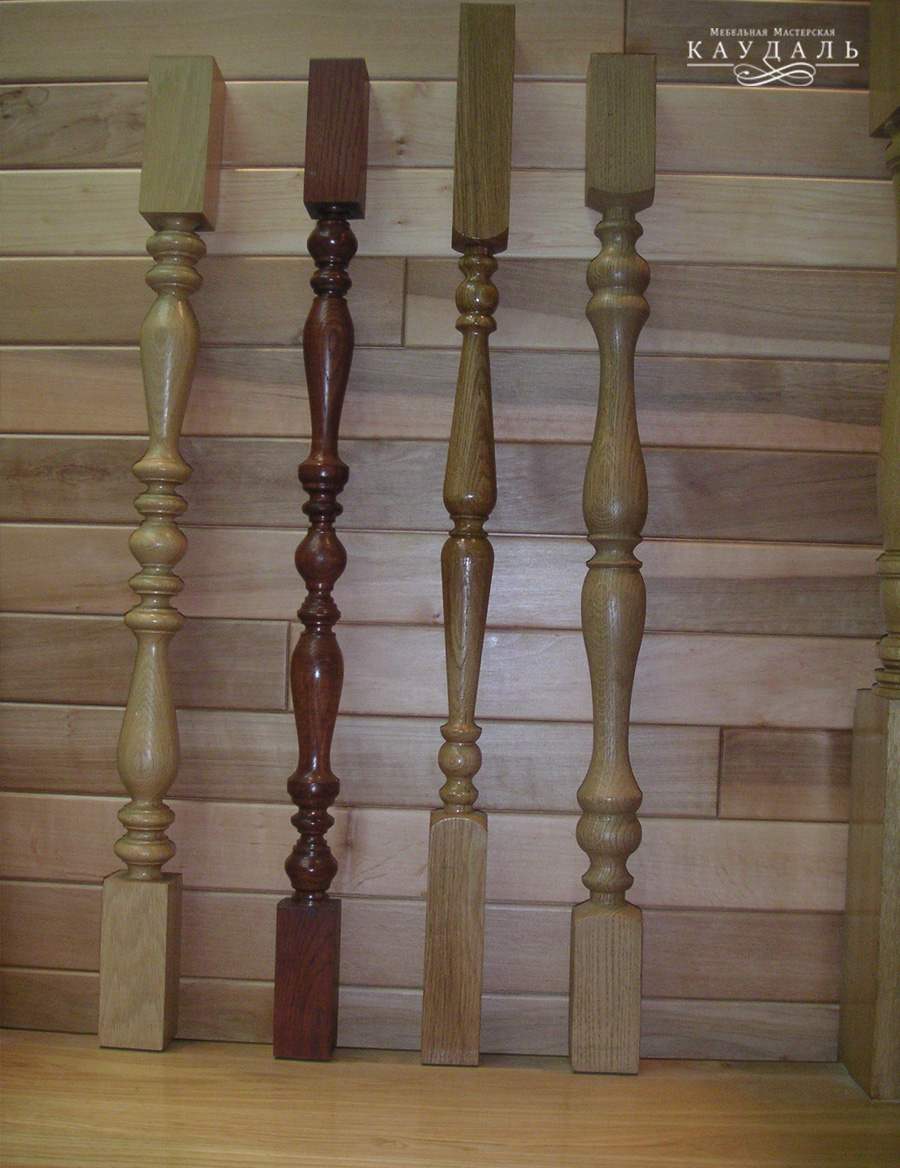 Столбы-коробки из дуба под заказ Дубовые большие столбы