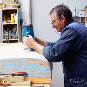 Мастер в мастерской Каудаль