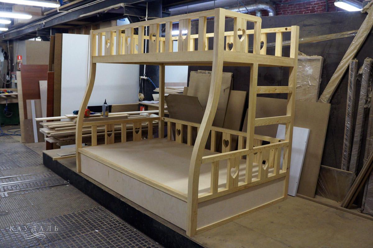 Двухъярусная кровать из мдф своими руками 171