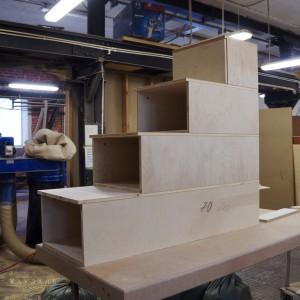 Ступеньки-ящики для двухъярусной кроватки