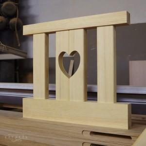 Сердечки из дерева на заказ