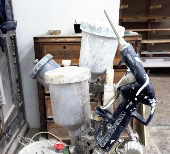Инструменты для покраски деревянных дверей