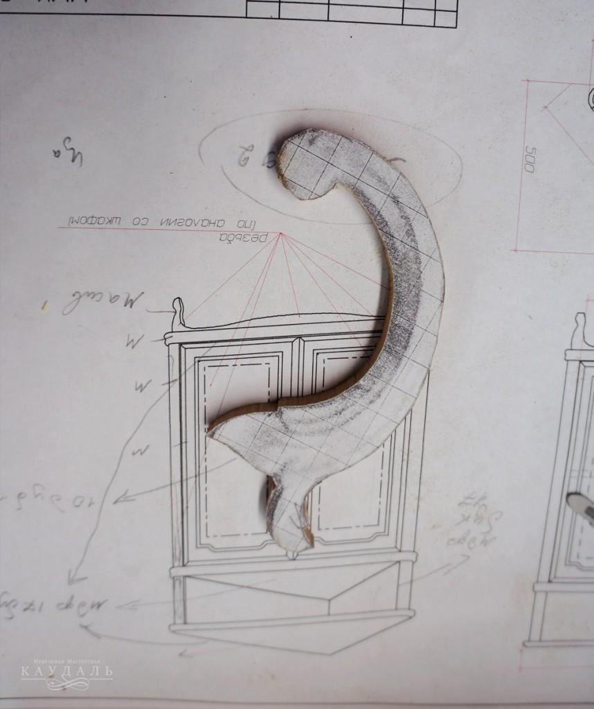 Декор для мебели ручной работы