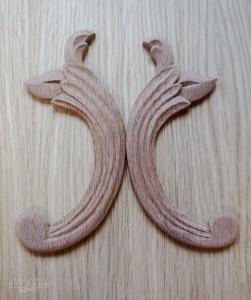 Деревянные узоры для мебели ручной работы