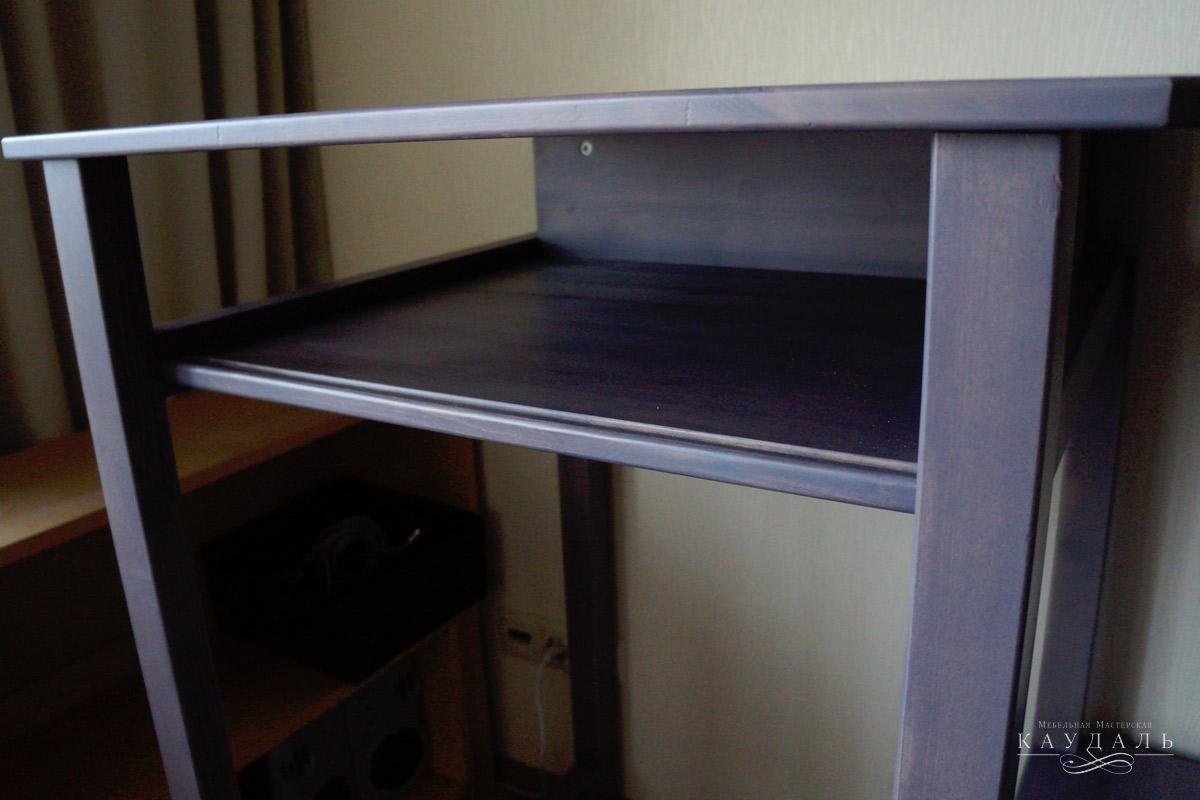 Стол для компьютера из массива