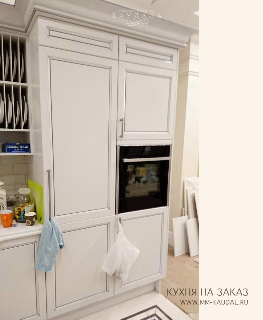 Кухня угловая, прямая на заказ в москве