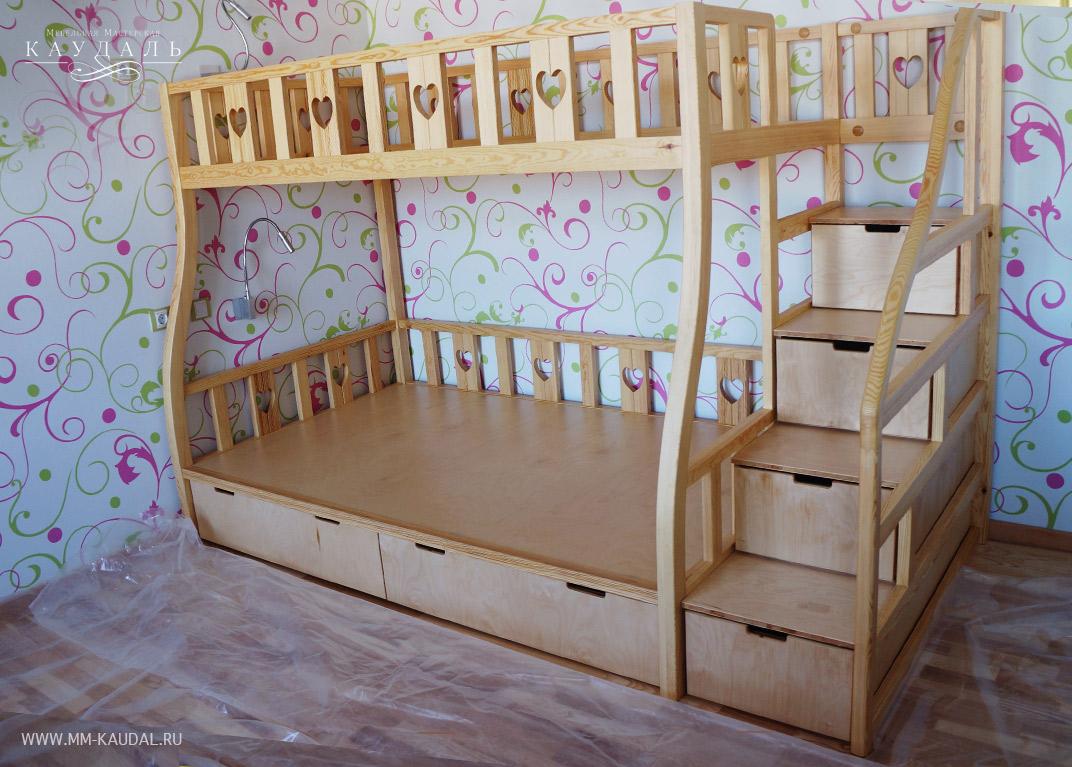 Купить детскую кроватку ( двухъярусную )