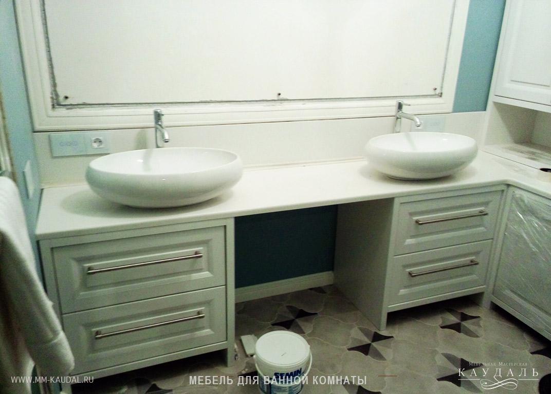 Мебель для ванной комнаты любой сложности