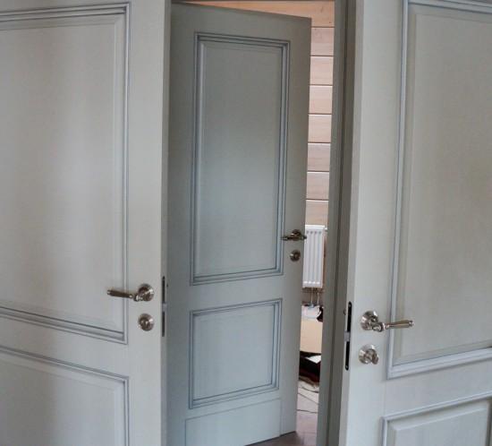 Элитные двери из массива на заказ в Москве