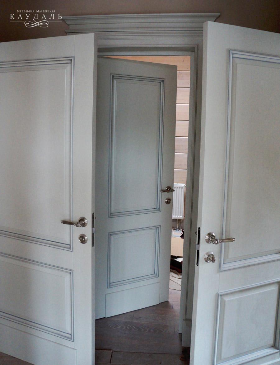 Купить межкомнатные двери со шпоном дуба в СПб - Магазин