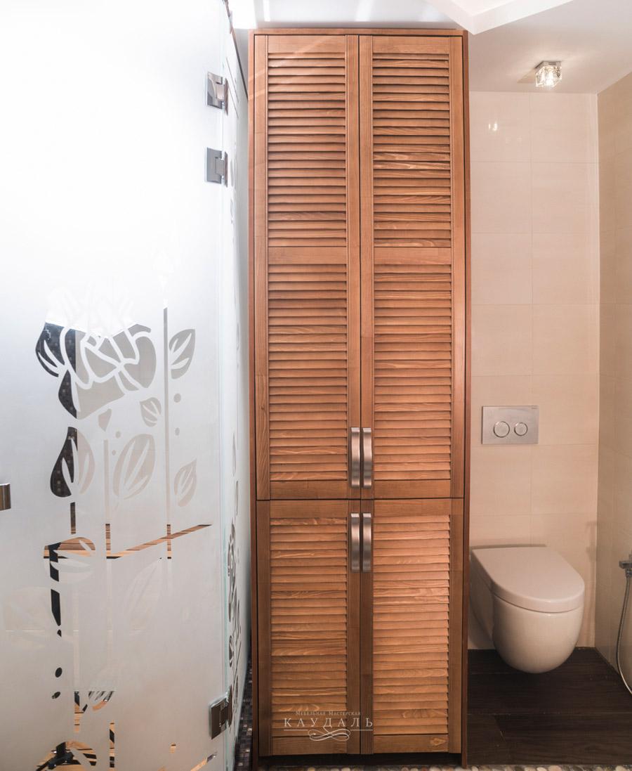 Шкаф из МДФ в ванную комнату