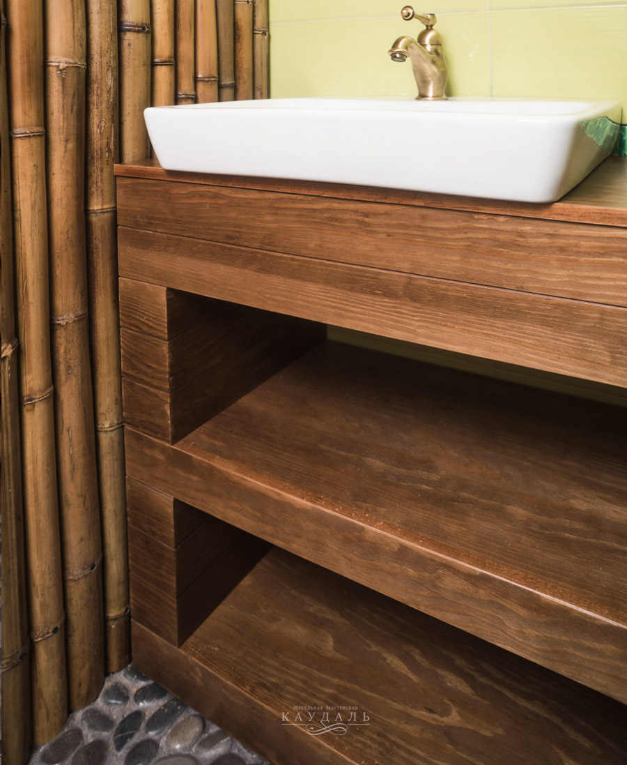 Мебель для ванной по размерам
