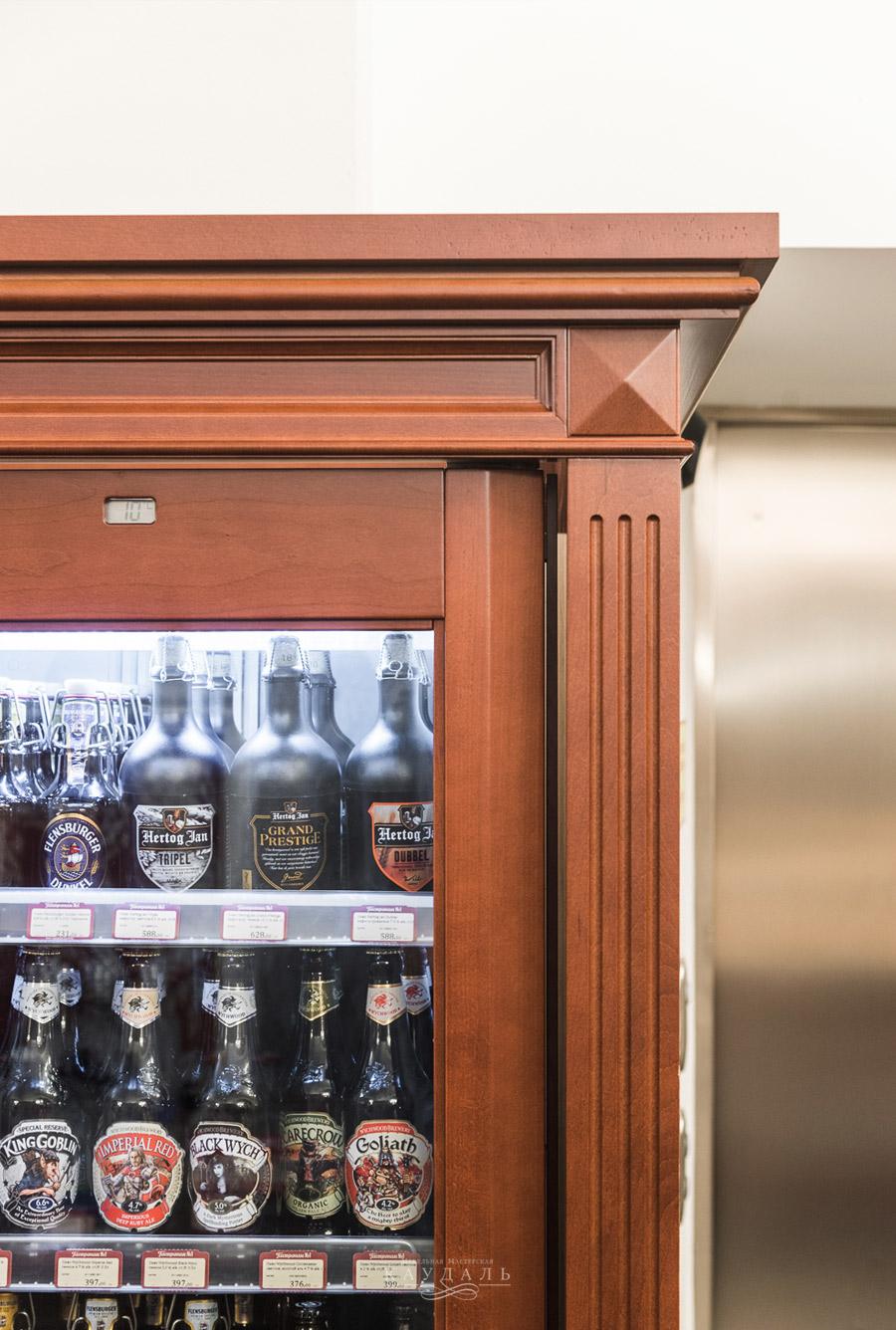 Шкав для встраиваемого холодильника на заказ
