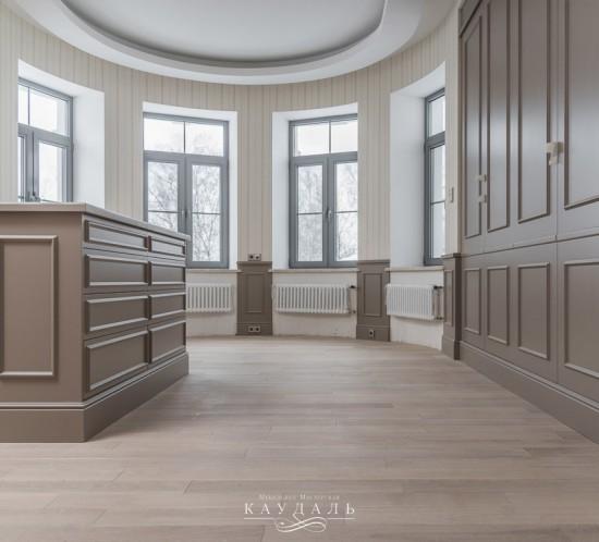 Гардеробная - мебель мастерской Каудаль