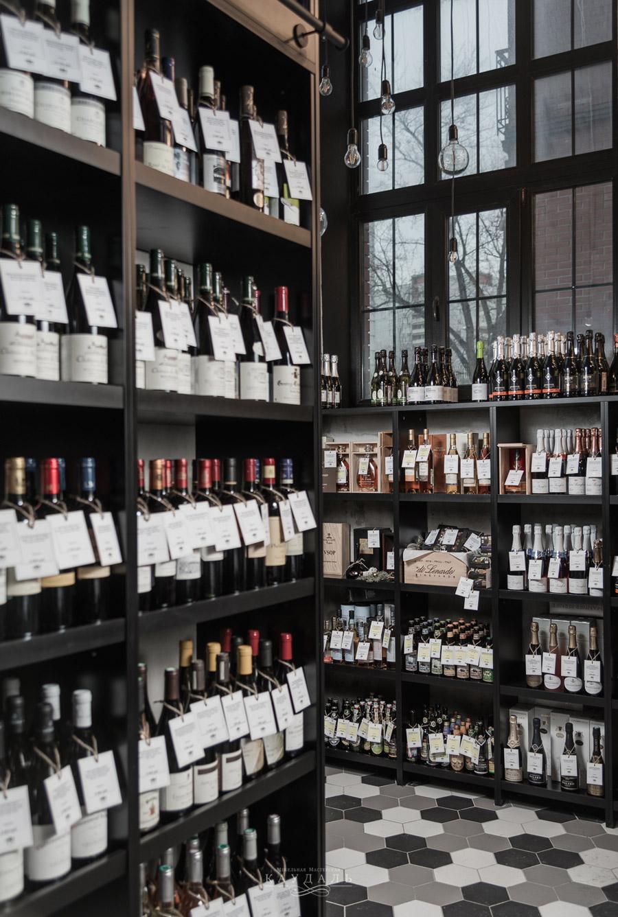 Витрины на заказ для вина