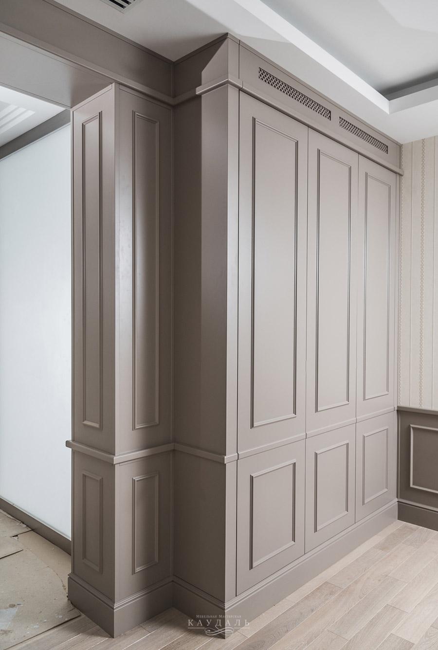Шкафы в классическом стиле мебель на заказ..