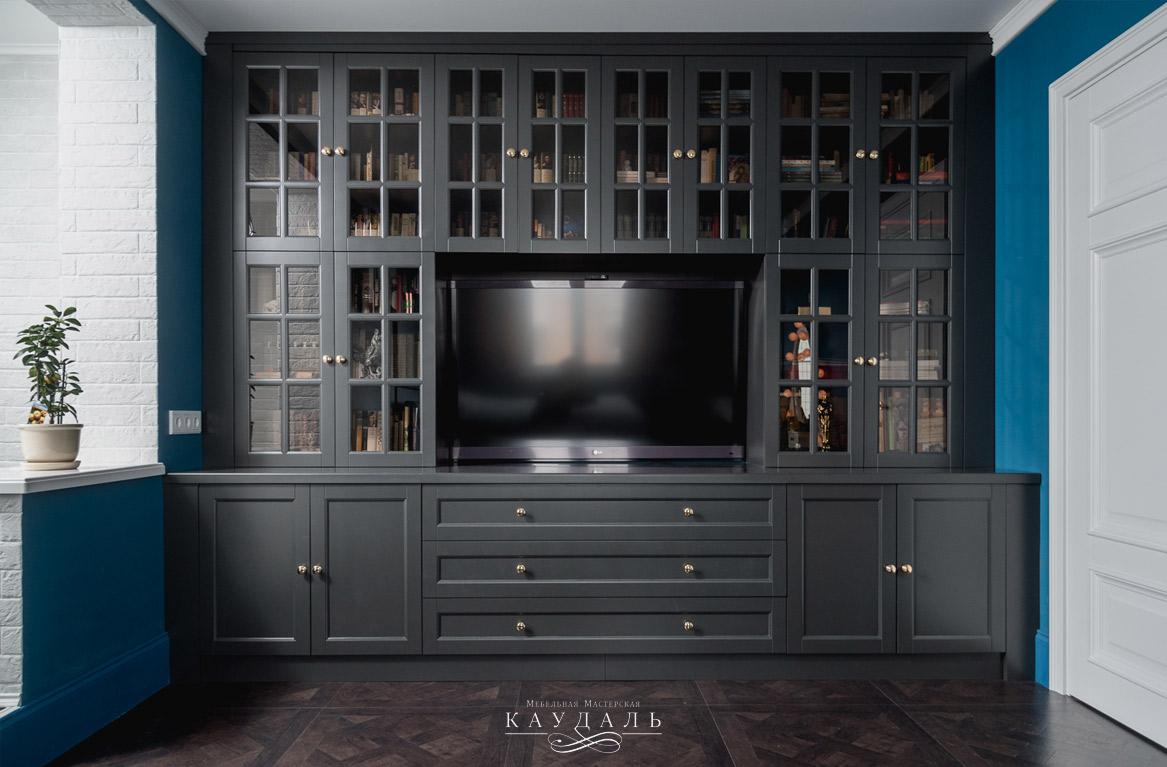 Шкаф темного цвета прованс, классика, кантри.