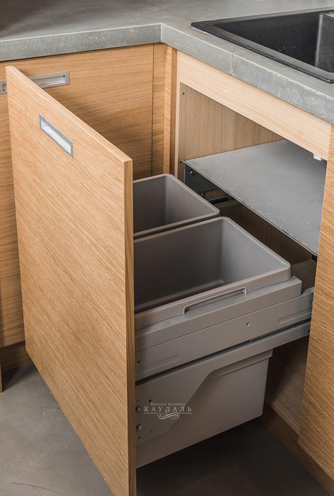 Кухня лофт фото ящики