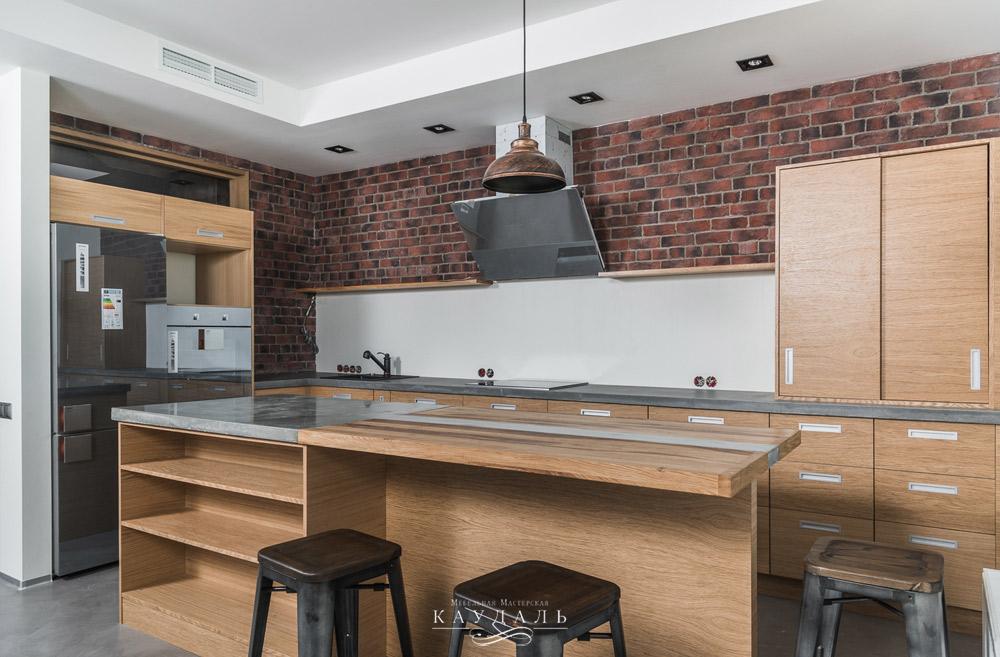 20 фотографий кухни в стиле лофт в жизни