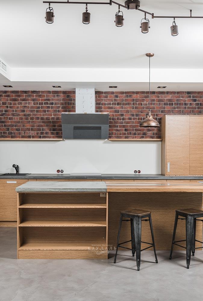 Дизайн в стиле лофт - реальная квартира