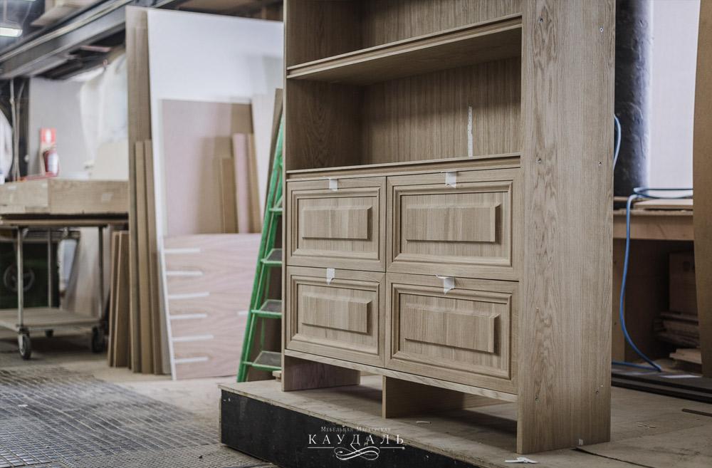 Шкаф для бара в дом на заказ  от производителя