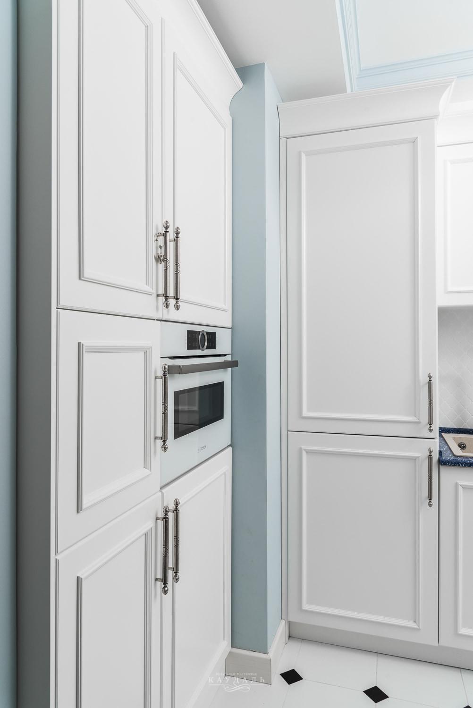 Отдельно стоящий шкаф для бытовой техники на заказ