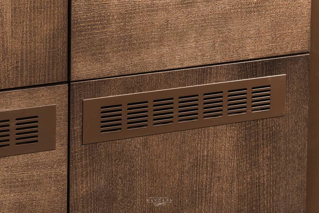 Фасады для шкафа с вентиляционной решеткой на заказ