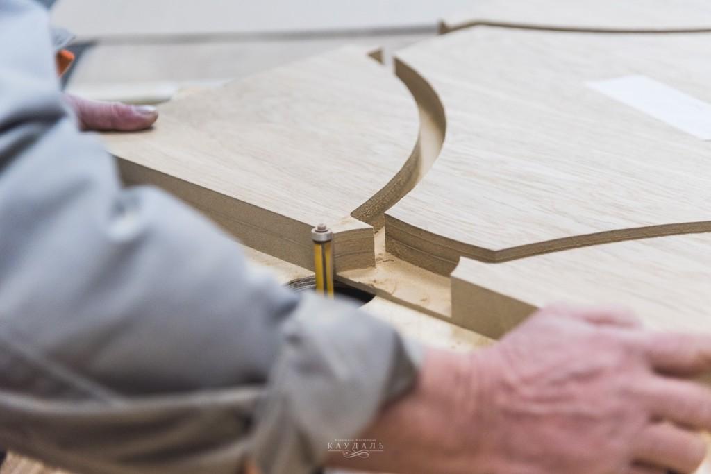Изготовление необычного обеденного стола