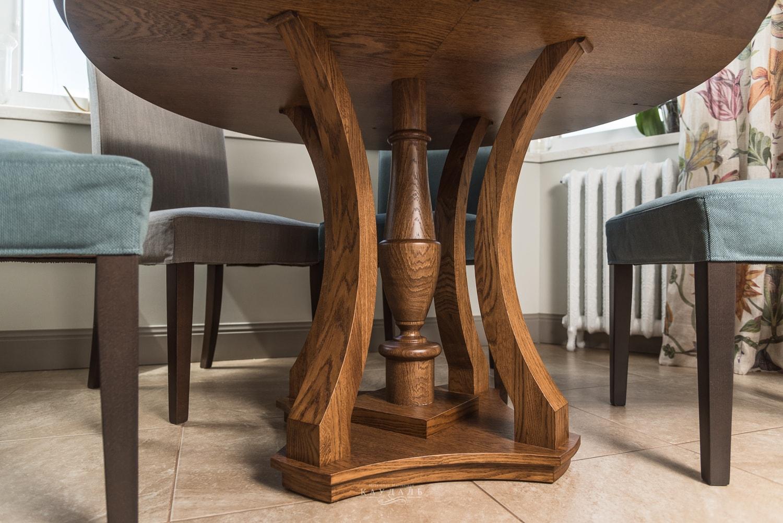 Необычные ножки обеденного стола на заказ