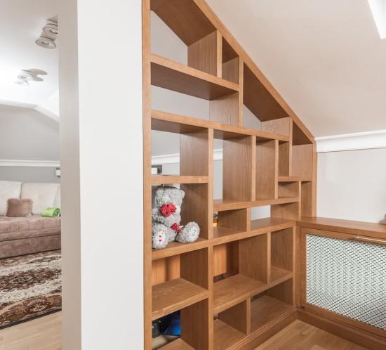 Стеллаж Перегородка для детской спальни.