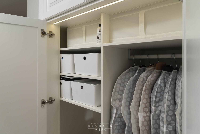 Внутреннее наполнение шкафа на заказ